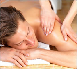 Shoulder Pain can be alleviated by massage